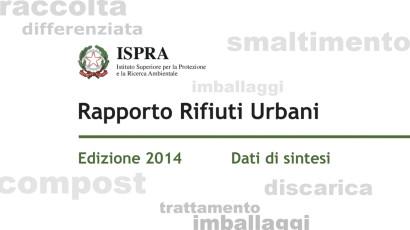Ispra, Rapporto Rifiuti Urbani 2014