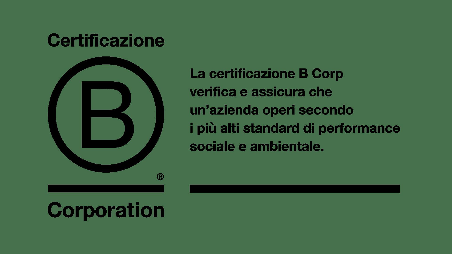 CERTIFICAZIONE B CORP _ GARC _ SpA_Carpi_Modena